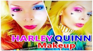 HARLEY QUINN ❤ MAKEUP TUTORIAL