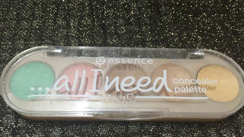 All I Need Palette Correttori Viso (Essence) | Concealer palette (Review)