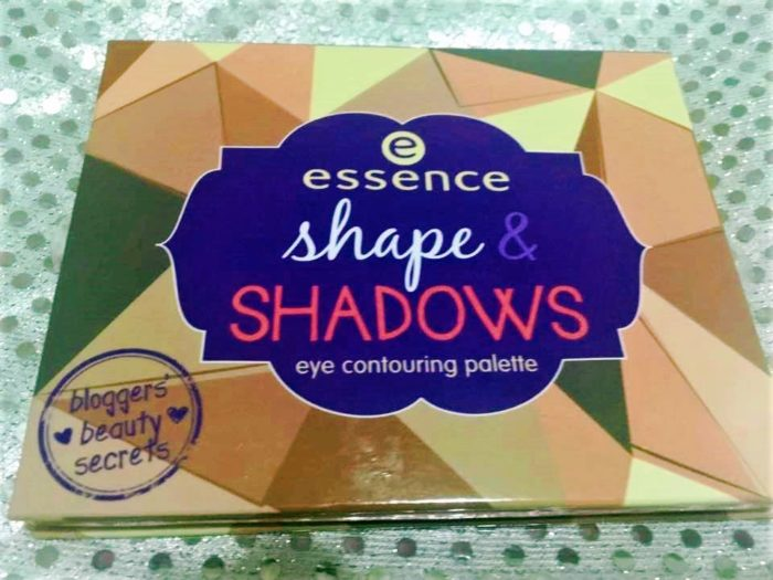 Essence shadows reseña palette