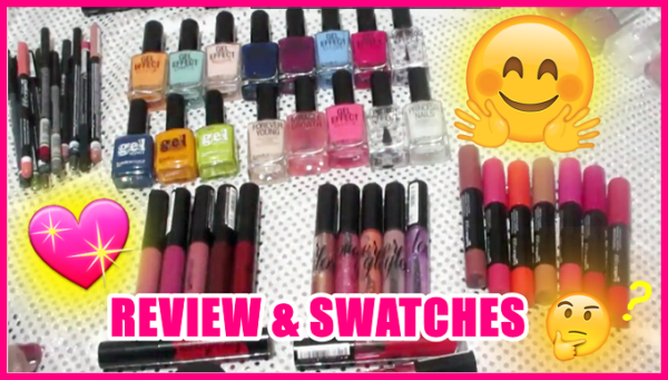 review and swatches