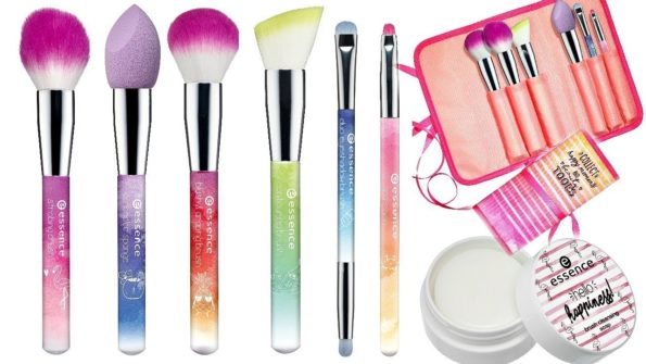 "BEAUTY | NEW MAKEUP BRUSHES ""HELLO HAPPINESS"" BY ESSENCE"