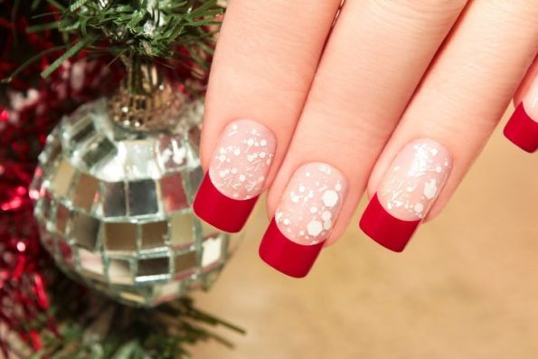 Christmas ideas: Nail decorations  2018-2019
