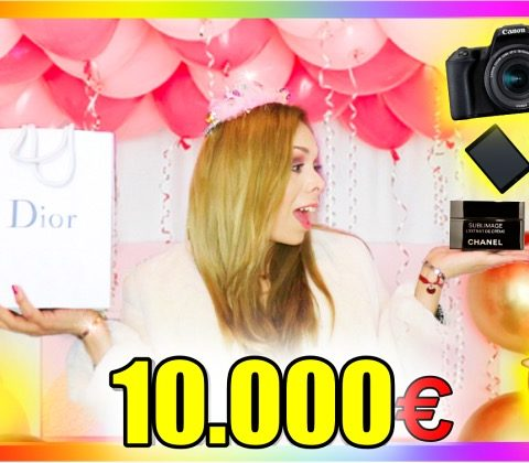 10,000 EURO IN MY BIRTHDAY GIFTS 💸 (2019)