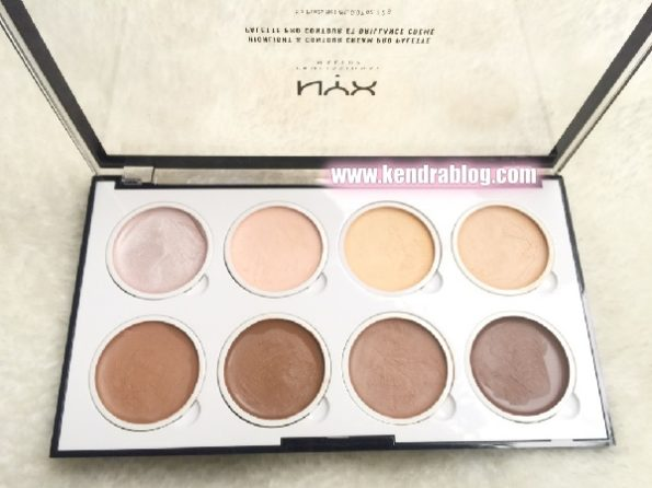 HIGHLIGHT & CONTOUR CREAM PRO PALETTE NYX