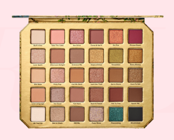 """NATURAL LUST"" NEW PALETTE BY TOO FACED"