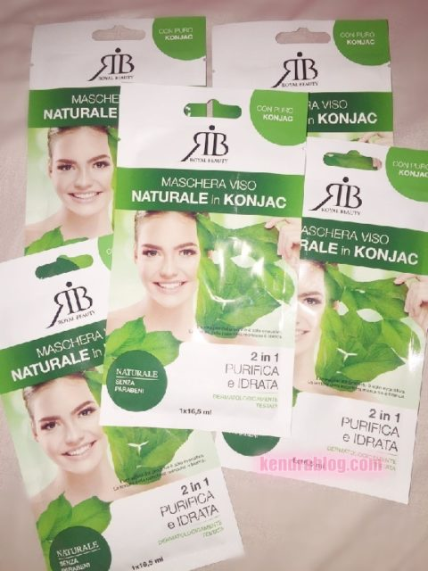 MASCHERA KONJAC di ROYAL BEAUTY