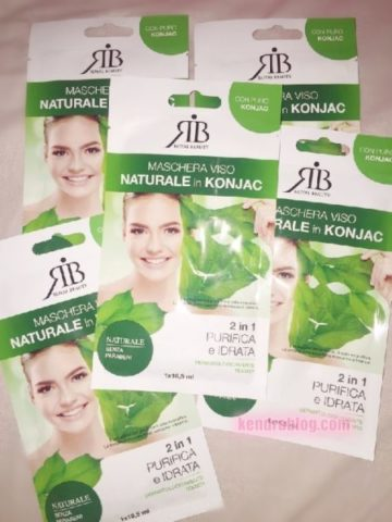 ROYAL BEAUTY: MASCHERA VISO NATURALE in KONJAC